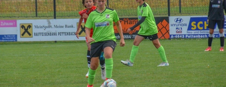 SVF-Mädchen im Steirischen Nachwuchsfußball etabliert!