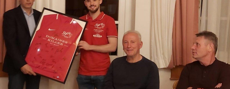 Einladung des Bürgermeisters Bernd Hermann zum Gasthaus Sorger!