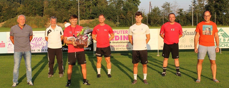 """Coach Ewald Klampfer ein """"neuer"""" 50er!"""